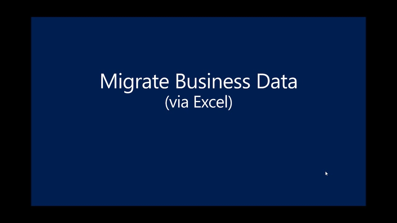 Dynamics 365 Business Central: Setting up a New Company