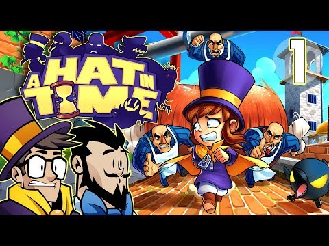 A Hat In Time Lets Play: Two Girls, One Hat - PART 1 - TenMoreMinutes