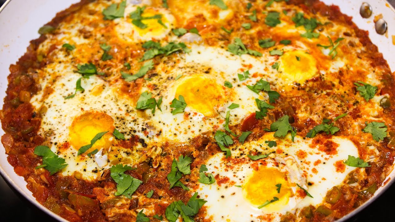 Shakshuka Egg Recipe Easy Egg Recipes Indian Egg Recipe For