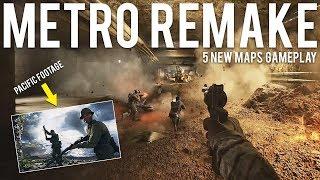 Metro Remake + 5 New Maps Gameplay Pacific Battlefield 5