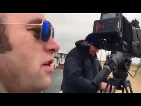 Danny Sloggett Vision  ITV with other news reportsShow  Jaywick to world