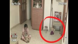 Полтергейст в детской комнате Оживает кукла и движется мебель GHOST