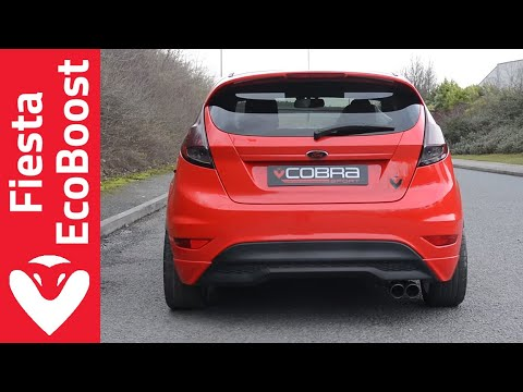 Ford Fiesta 1L Eco-Boost Resonated Catback Performance Exhaust by Cobra Sport