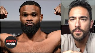 Brett Okamoto previews Tyron Woodley vs. Gilbert Burns UFC fight card | ESPN MMA