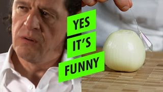 MARCO RESPONDS: How to chop an ONION the REAL way