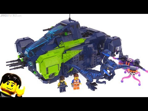 LEGO Movie 2 Rex's Rexplorer review! 70835