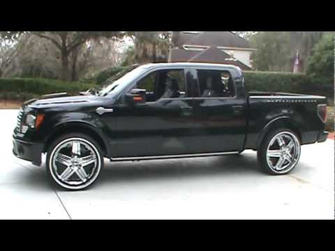 "Close The Door >> 2011 Harley Davidson F150 on 28"" Dub Delusions - YouTube"