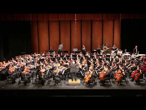 Jenny Lin 2017 Summer Concert Symphonic Orchestra Performed In The Bleak Midwinter by Gustav Holst