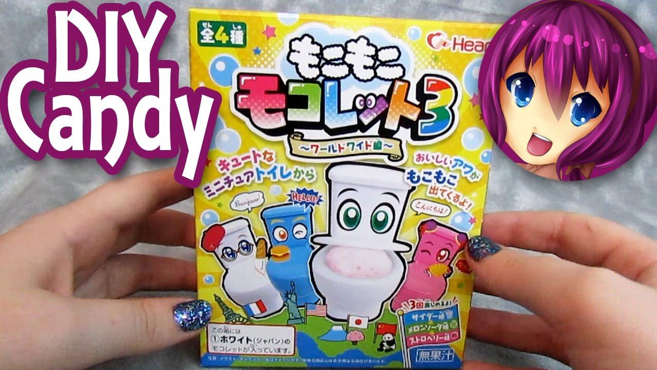 Japanese Diy Toilet Candy Moko Moko Mokolet