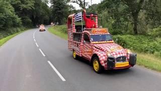 Tour de France 2018 - Les 2CV Cochonou en Bretagne