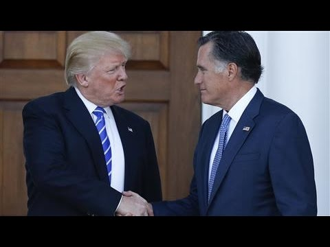 Donald Trump and Mitt Romney Make Move to Reconcile