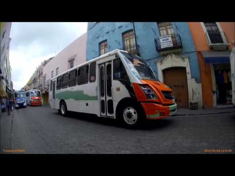 MEXICO TRAVEL: Riding On A Mexican City Bus