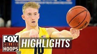 Sam Hauser records 31 points in Marquette's win over Georgetown | FOX COLLEGE HOOPS HIGHLIGHTS
