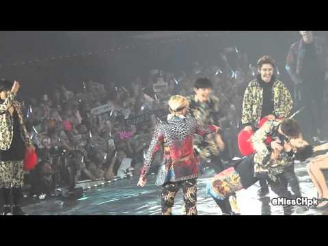 [fancam] 140914 TLP in BKK (Chen, XiuMin - Gee /..Kiss?~) #EXOPlanetinBKK