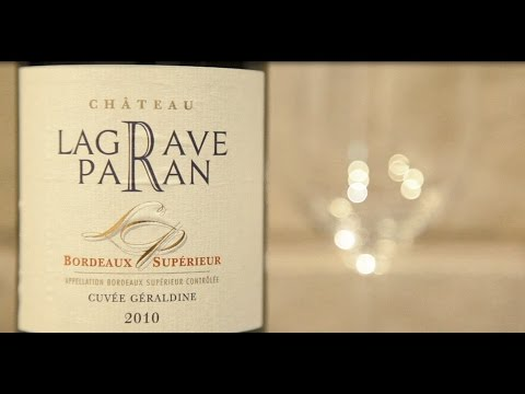 ワイン通販 Firadis WINE CLUB 30 ワインテイスティング動画 シャトー・ラグラーヴ・パラン キュヴェ・ジェラルディン(フランス ボルドー産赤ワイン フルボディ)
