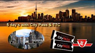 City Pass로 토론토 명소 돌기