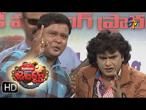 BulletBhaskarSunamiSudhakarPerformance – Jabardsth - 11th August 2016– ETV  Telugu