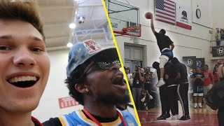 JUDGING THE #1 BALL IS LIFE ALL AMERICAN HIGHSCHOOL *DUNK CONTEST*