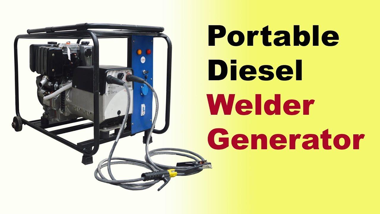 diesel welding generators welding generator set generator welding machine [ 1280 x 720 Pixel ]