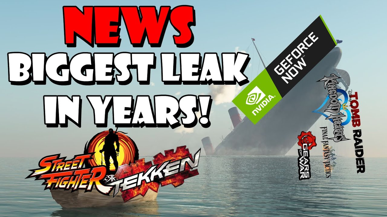 MASSIVE GeForce Now database leak shows many upcoming unannounced games!