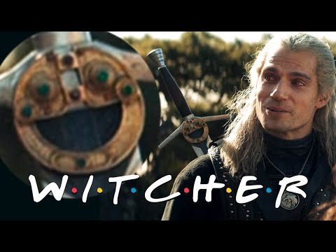 The Witcher F.R.I.E.N.D.S. opening