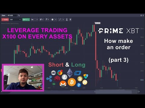 PrimeXBT Tutorial | How To Open A Trade In Bitcoin, Ripple With LEVERAGE!