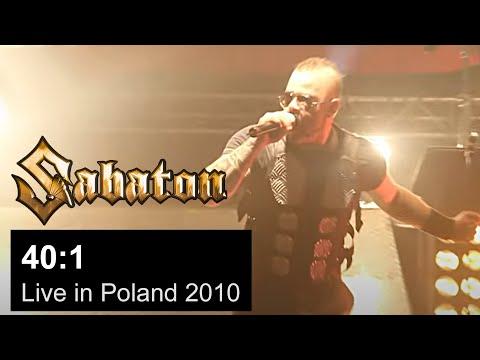 SABATON - 40:1 Live in Poland 2010 (OFFICIAL LIVE)