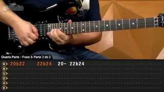 Starry Night - Joe Satriani (aula de guitarra)