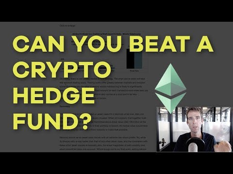 Can You Beat A Crypto Hedge Fund? Coinbase Rebalancing, AdEx