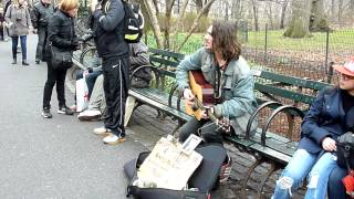 James Dalton Baker (Busker in Central Park NYC)