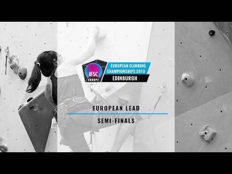 2019 IFSC Europe Climbing Championships - Lead Semi Finals