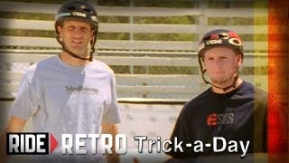 How-To Skateboarding: Late Shove-It with Tony Hawk & Mike Vallely