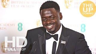 Daniel Kaluuya EE Rising Star Award winner at BAFTAs press conference for Get Out