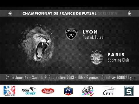 LYON FOOTZIK FUTSAL -  PARIS SPORTING CLUB