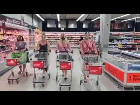 Kein Zutritt ohne Maske - Das Original * 4 Girls 4 Masken * Das beste Corona Video aller Zeiten.