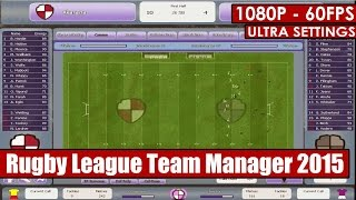 Rugby League Team Manager 2015 gameplay PC - HD [1080p/60fps]