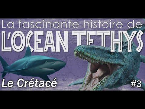 L' océan Téthys au Crétacé- Géologie / Paléontologie - Simplex Paléo