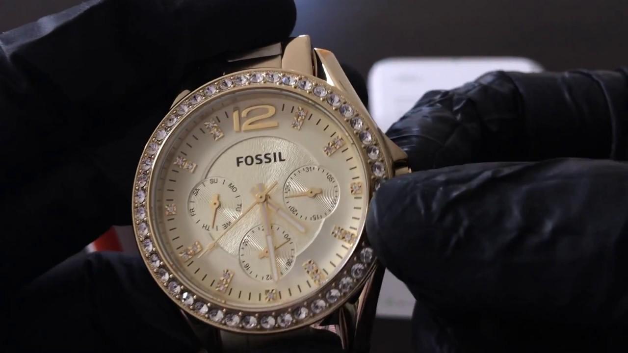 91d739eee23b Reloj FOSSIL ES3203 - UNBOXING FOSSIL Watch ES3203 (Regaloj) - YouTube