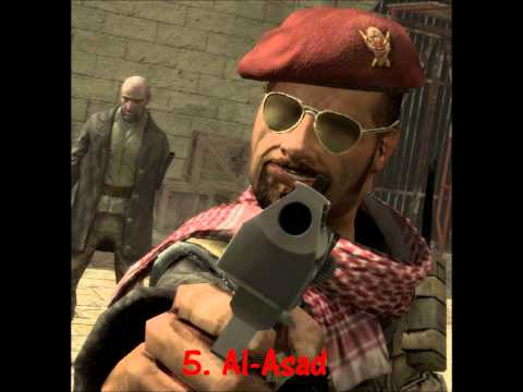 Top 10 most evil Call of Duty characters