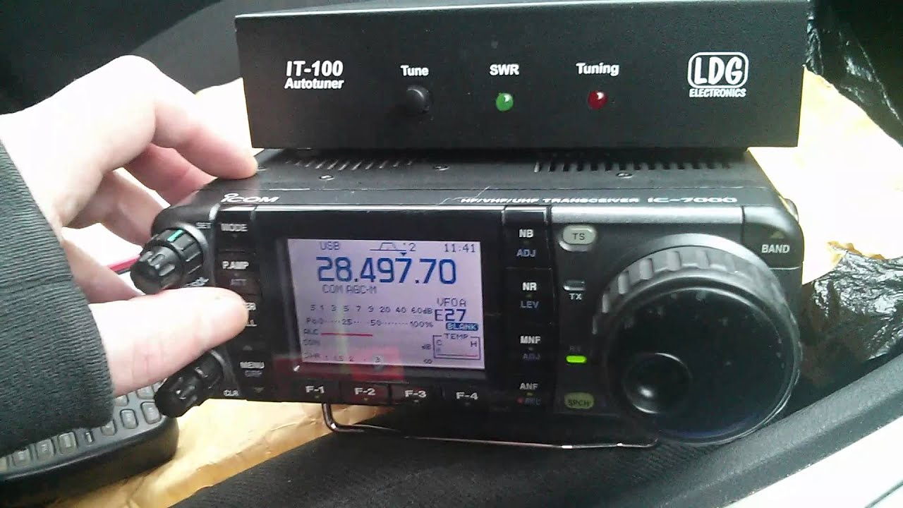 Ldg It 100 Tuner Test Youtube