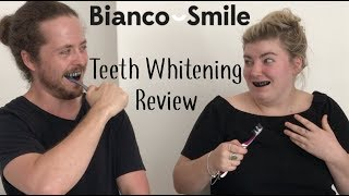 Gambar cover Bianco Smile Teeth Whitening Review | Alex & Claudia try popular products.... very late