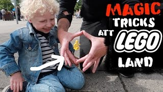 Magic tricks 🚜Lego Land l Julien Magic