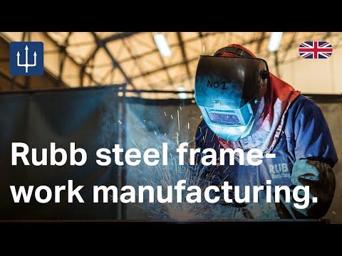 Rubb steel framework manufacturing