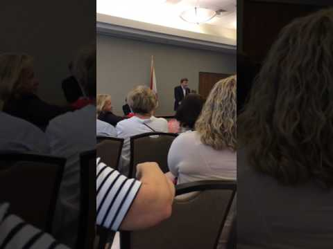 """Rep. Mike Rogers town hall in Oxford, Ala. 5 """"You keep my wife out of this ..."""""""