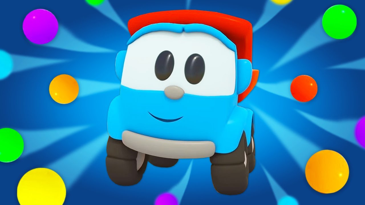 Leo the truck cartoon for toddlers & Funny cartoons for kids! New games for kids & Cars and trucks.