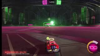 Jugando Rocket League