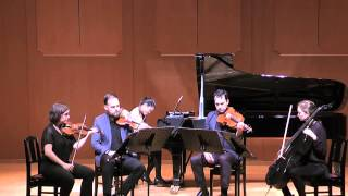 Erika Dohi: Piano Quintet by Michael Patterson feat. Mivos Quartet