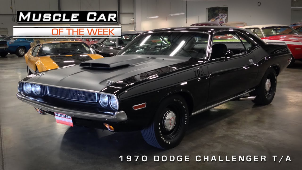 Muscle Car Of The Week Video Dodge Challenger T A Youtube