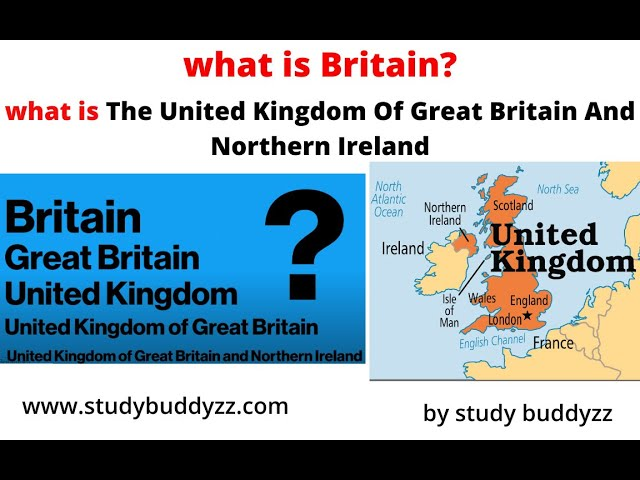 What is The Great  britain and Northern Ireland? | United Kingdom? | England | General knowledge