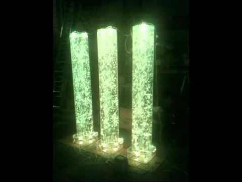 Bubble Tubes Led Lighting Youtube